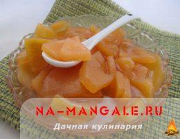 Рецепты приготовления айвового варенья