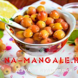 Рецепты варенья из райских яблочек