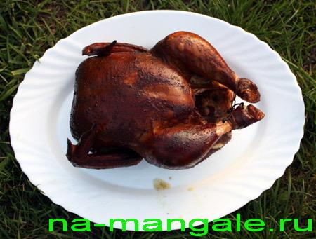Курица копчёная