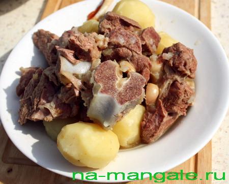Баранина и картофель