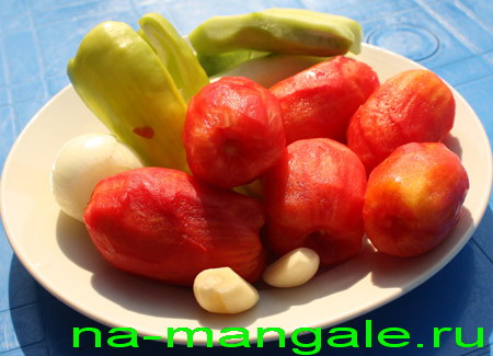 Овощи для гаспачо