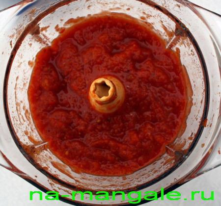 Томатный соус в блендере
