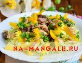 Миниатюра к статье Салат с тунцом и пекинской капустой: рецепт для праздника