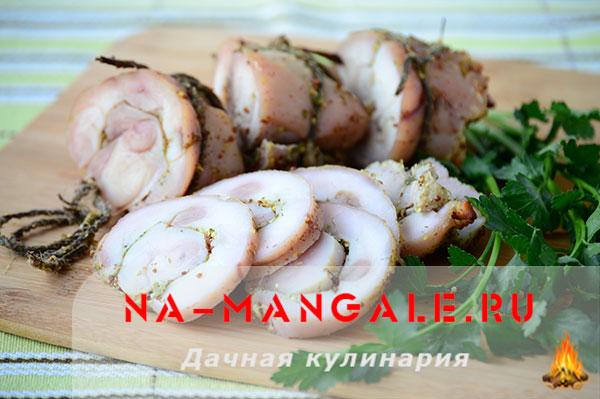 рецепт приготовления домашней пастромы из мяса кролика