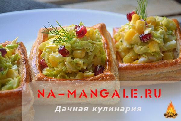 Рецепты салатов из консервированной кукурузы и пекинки