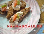 Миниатюра к статье Семга и сливочный сыр: отличная идея для закуски в тарталетках, корзиночках, на бутербродах и брускетте