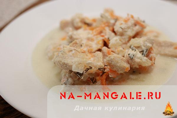Как из сметаны и филе приготовить вкусное блюдо