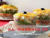Миниатюра к статье Самые вкусные рецепты салатов из печени трески