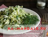 Как из свежей капусты и огурца приготовить вкусный салат