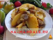 Миниатюра к статье Готовим картошку с баклажанами: осеннее наслаждение