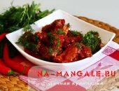 Миниатюра к статье Как приготовить пикантные острые свиные ребрышки в томатном соусе