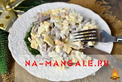 Всё о правильном приготовлении салатов на основе свиного сердца