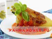 Миниатюра к статье Как пожарить болгарский перец на сковороде: 2 рецепта