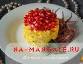 Простые и вкусные кальмаровые салаты с яйцами