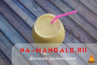 Рецепты приготовления коктейлей из банана и молока