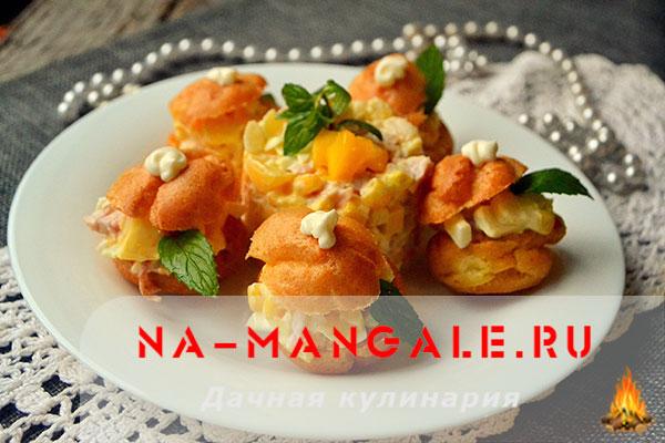 Как приготовить вкусные салаты на основе манго