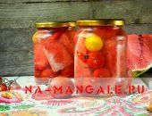 Миниатюра к статье Маринованные помидоры с арбузом