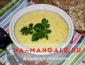Пюрированный суп с цветной капустой
