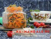 Миниатюра к статье Как приготовить зеленую стручковую фасоль с морковью по-корейски