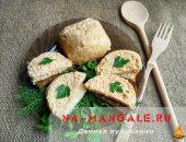 Миниатюра к статье Готовим вкусный мясной хлеб из куриного фарша с молоком