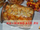 Миниатюра к статье Вкусный салат из цветной капусты и помидоров: заготовка на зиму
