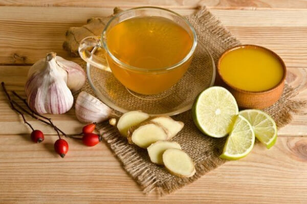 Лекарство из имбиря лимона и чеснока
