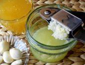 Миниатюра к статье Чудо-смеси или рецепты из чеснока, меда,лимона