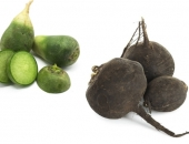 Отличия между черной и зеленой редькой