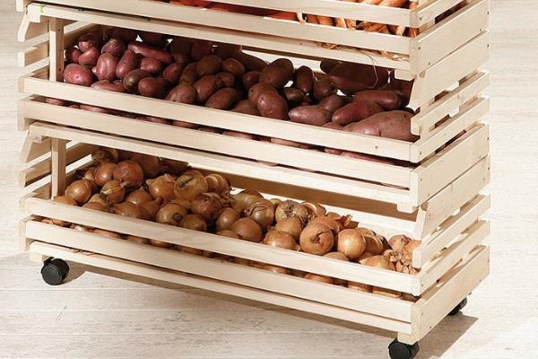 Где хранить картофель
