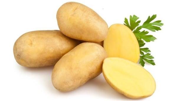 Картофель красный с желтой мякотью сорта