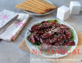 Миниатюра к статье Как приготовить полезный салат из свеклы со шпинатом