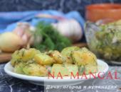 Миниатюра к статье Легкие салаты с жареными кабачками: рецепты на выбор