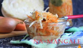 Миниатюра к статье Как быстро приготовить маринованную капусту — классический рецепт с уксусом и варианты со свеклой и болгарским перцем