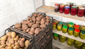 Миниатюра к статье Автолюбителям на заметку:как хранить картошкув гаражев погребе и без него?