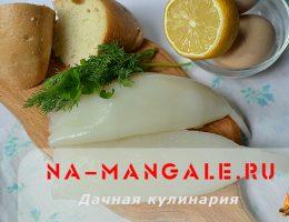 Правила варки кальмаров для салата