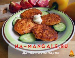 Рецепты сырных оладий с добавлением кабачка