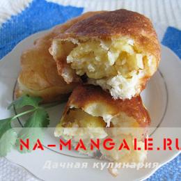 Как приготовить вкусные жареные пирожки с начинкой из картошки