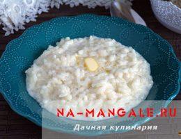 Как приготовить в мультиварке кашу из риса на молоке?