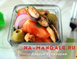 Рецепты вкусных салатов из мидий