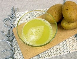 Сок картофеля натощак - полезно или нет