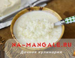 Рецепт вкусного рисового супа на молоке