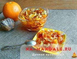 Как приготовить вкусное апельсиновое варенье
